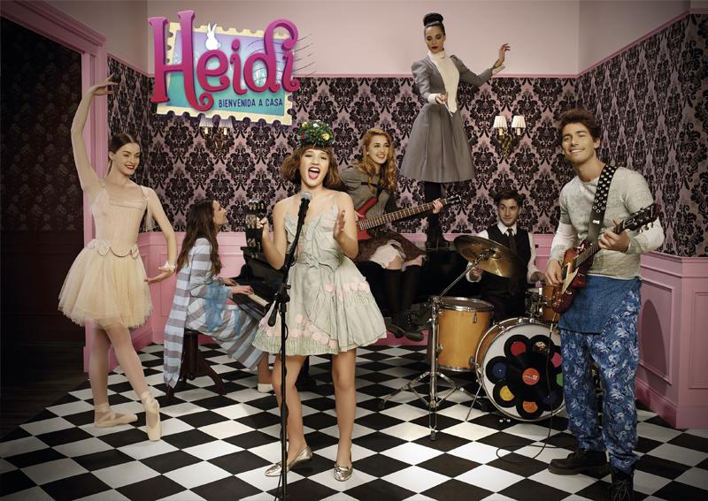 Estreno Heidi Nickelodeon Latino America 13 marzo