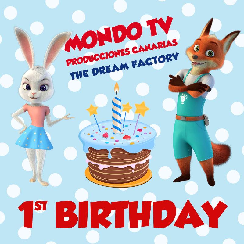 Mondo TV Producciones Canarias primer aniversario
