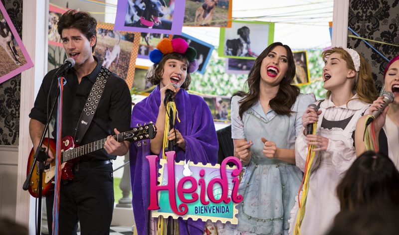 Heidi Bienvenida ecuador TV